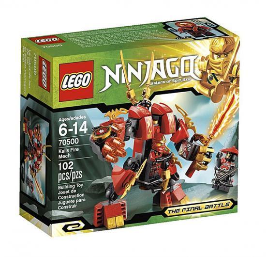 LEGO Ninjago The Final Battle Kais Fire Mech Set #70500