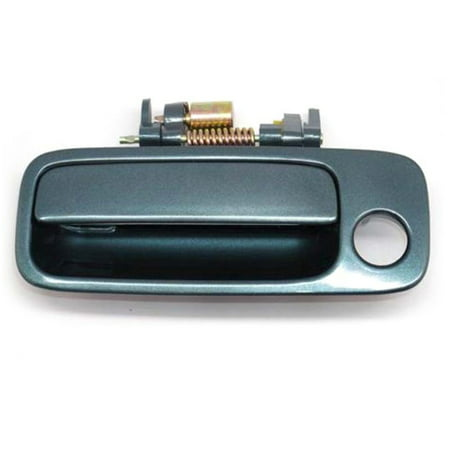 4AMCA Front Left Driver Side Exterior Outside Door Handle For 97-01 Toyota Camry 8N7 Sailfin Blue Pearl 1997 1998 1999 2000 2001