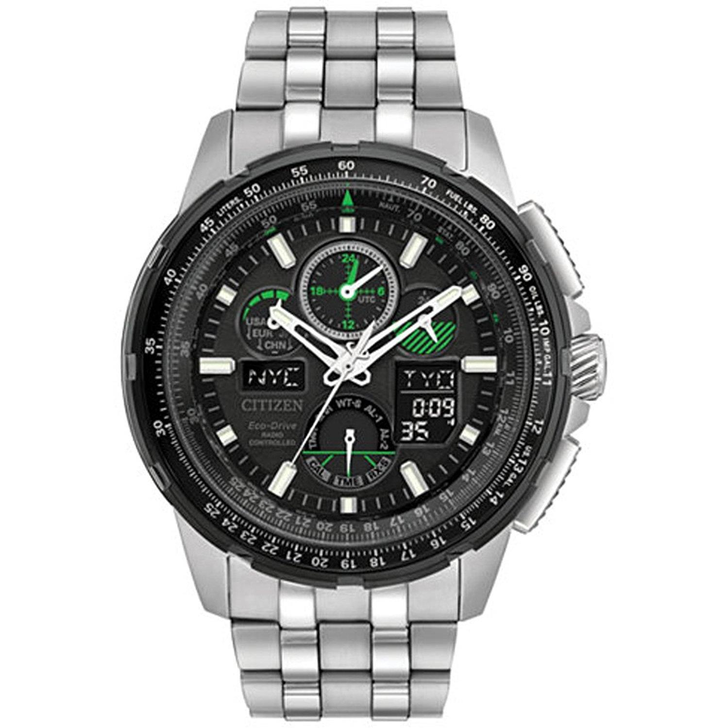 Citizen Eco-Drive Skyhawk Chronograph Mens Watch JY8051-59E