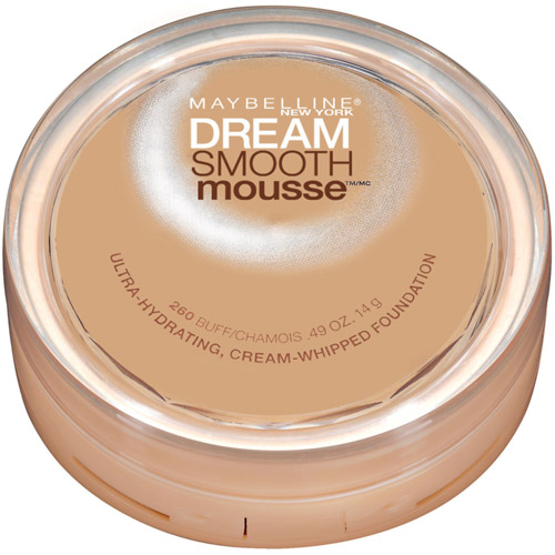 Maybelline Dream Smooth Mousse Cream Whipped Foundation, Buff