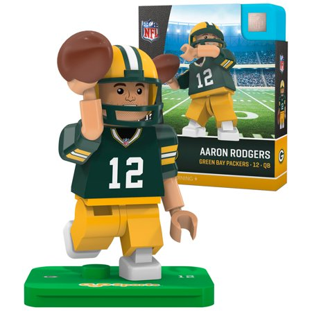 Aaron Rodgers Green Bay Packers OYO Sports 2016 Player Minifigure - No Size