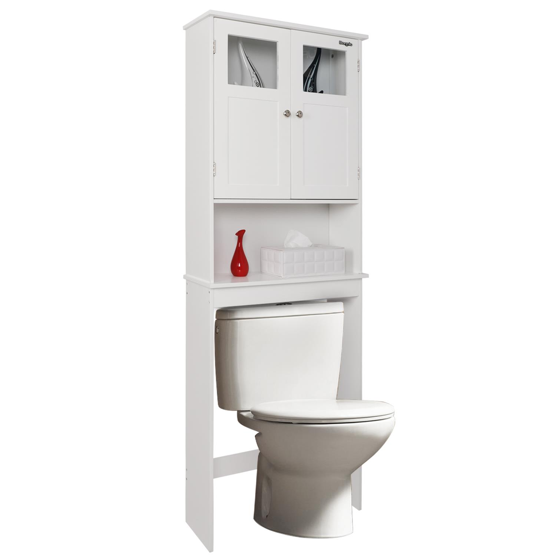 fch bathroom over the toilet cabinet w/adjustable shelves