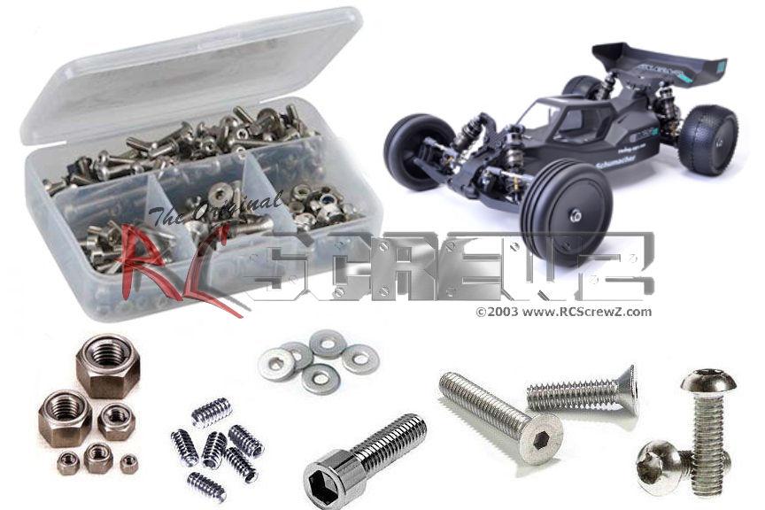 RC Screwz Stainless Steel Screw Kit for Schumacher Cougar KR (#K139) by RCScrewZ