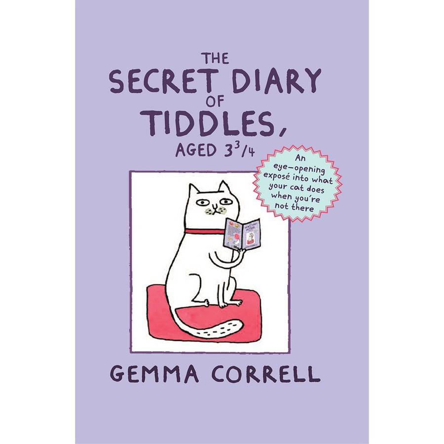 Dog 'n' Bone Books The Secret Diary Of Tiddles, Aged 3-3/4