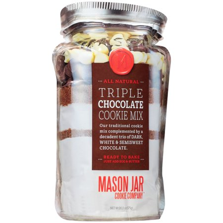 Mason Jar Cookie Company  Triple Chocolate Cookie Mix 20 2 Oz  Bag
