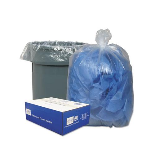Classic Clear Low-Density Can Liners WBI434722C