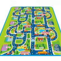 1a50a5ae54a Product Image Infant Baby Kids Crawl Playing Fun Game Play Mat Rug Carpet  Toy Double Side Letter Game