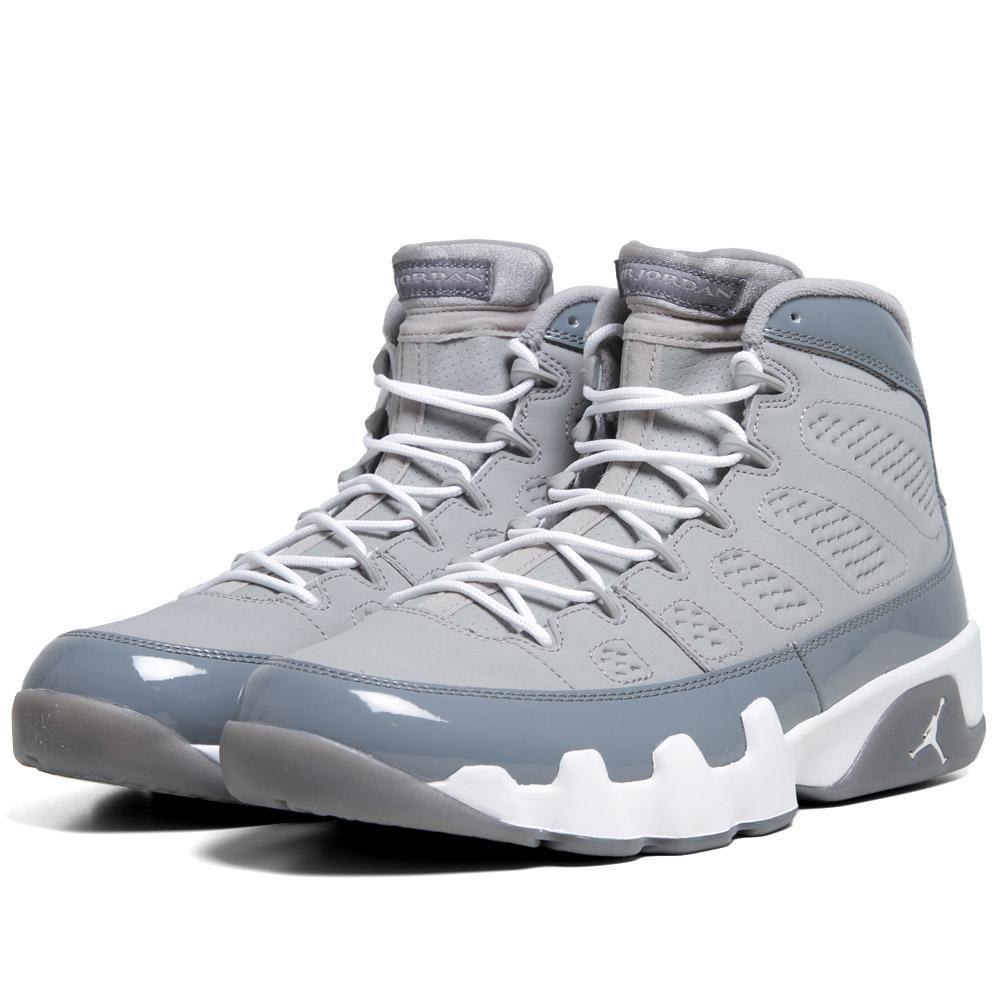 Nike 9 RETRO 'COOL GREY 2012 RELEASE' - 302370-015