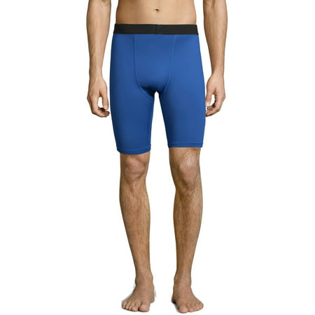 Hanes Sport Mens and Big Mens Performance Compression Shorts, up to 2XL