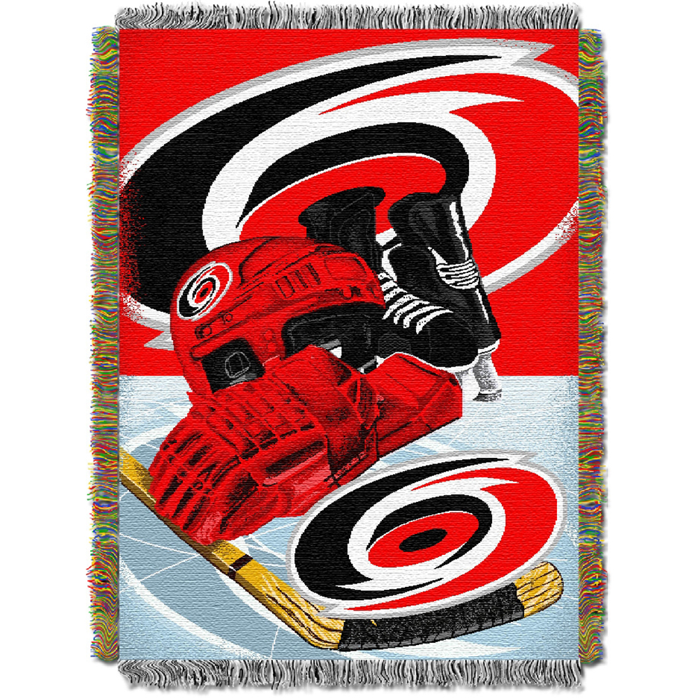 Carolina Hurricanes Woven Tapestry Blanket