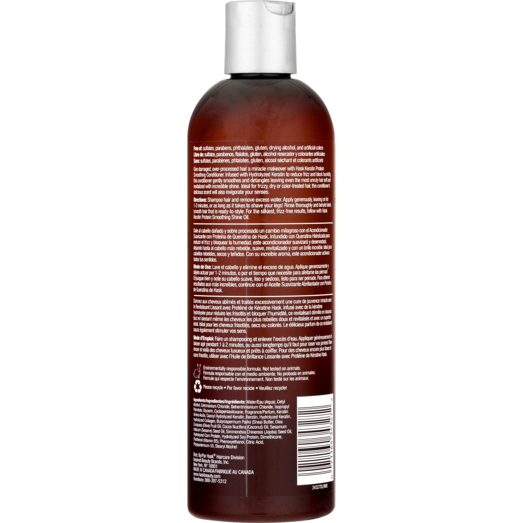 0d42fd5569d2b3 HASK Keratin Protein Smoothing Conditioner