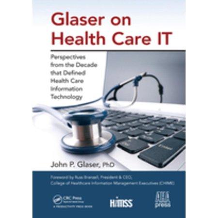 Glaser on Health Care IT - eBook (Retro-50er Jahre Gläser)