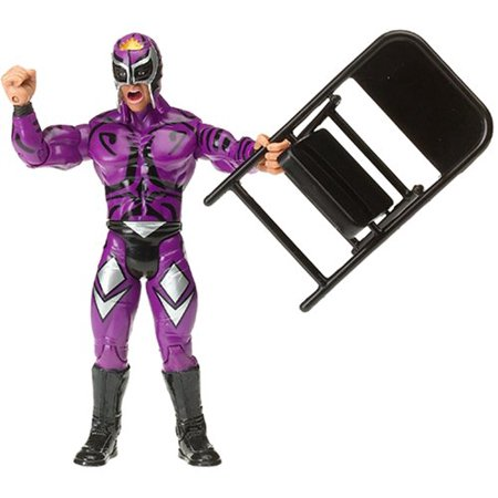 Best of ECW & WCW Wrestling Action Figure Rey Mysterio [Purple Outfit & Mask], Brand New Figure in Package!!! By Best Music Posters From USA (Best Wrestling Outfits)
