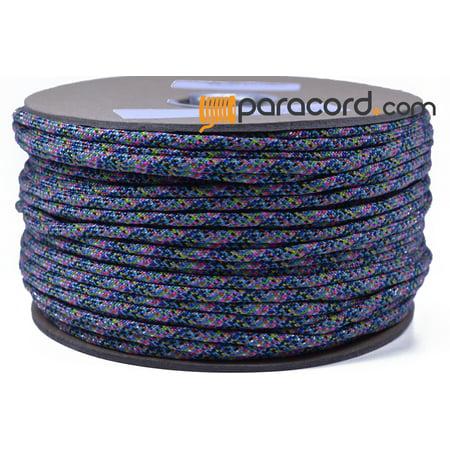 Rainbow Paracord (Bored Paracord Brand 550 Type III Paracord - Rainbow - 250 Feet)
