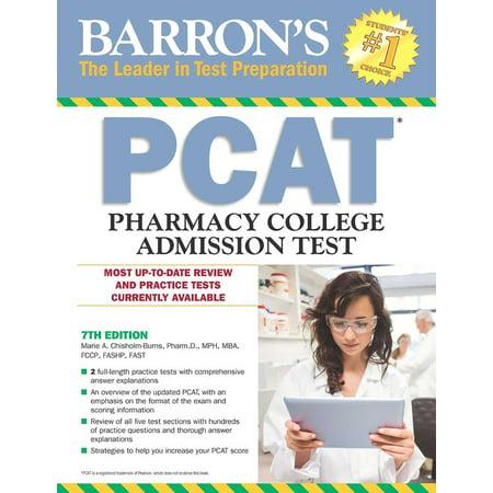 Barron's PCAT : Pharmacy College Admission Test