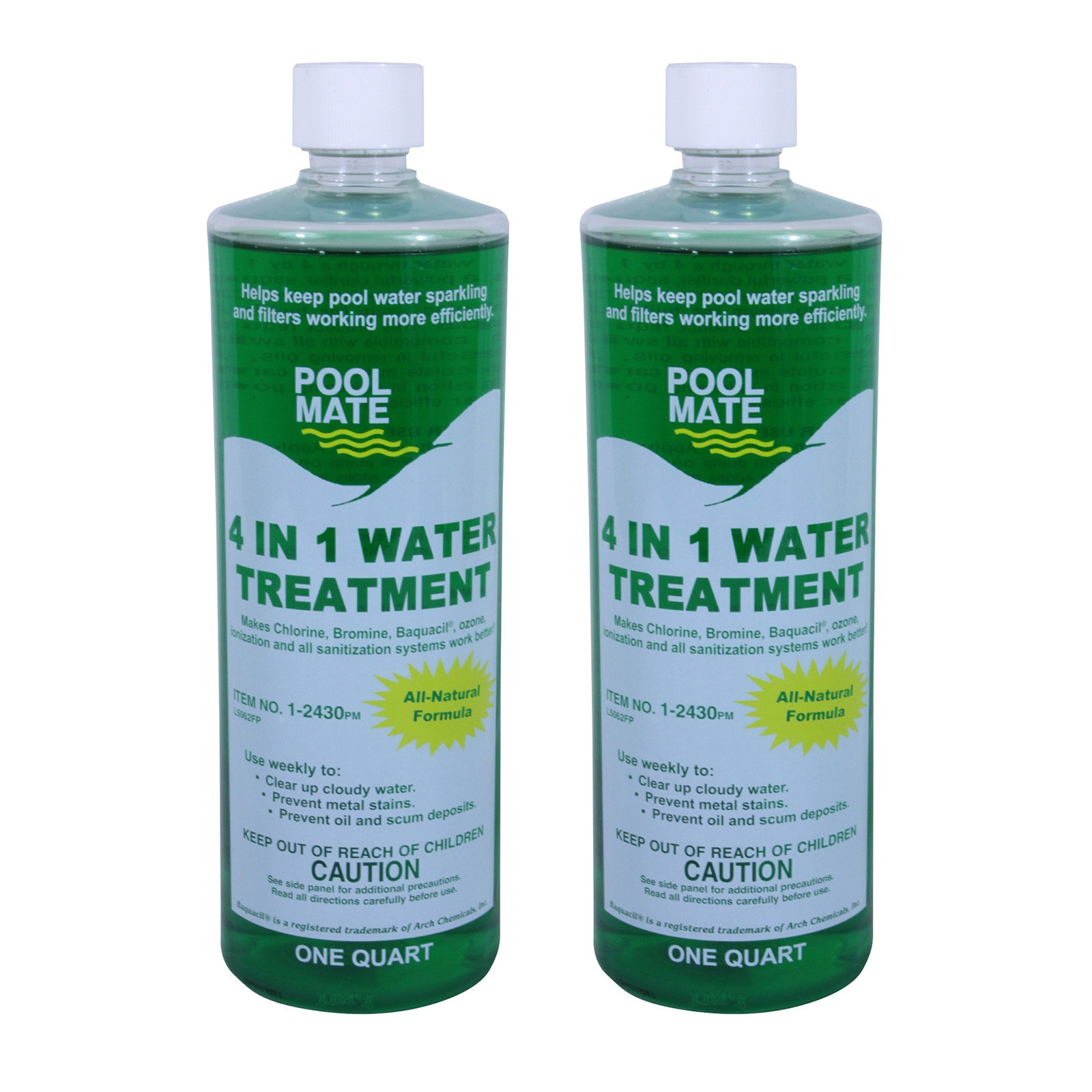 Pool Mate 4-in-1 Natural Water Treatment and Clarifier