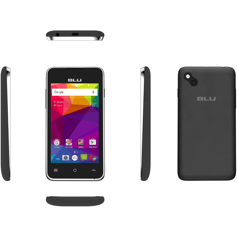Celular BLU avanzado 4.0 L2 A030U teléfono inteligente (blanco), negro + BLU en VeoyCompro.com.co
