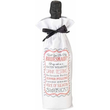 Lillian Rose Bridesmaid/Sidekick Wine Bag (Cheap Bridesmaids Gifts)