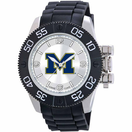 Game Time NCAA Men's University of Michigan Wolverines Beast Series Watch