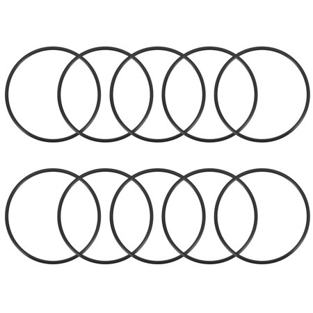 O-Rings Nitrile Rubber 42mm x 46mm x 2mm Seal Rings Sealing Gasket 10pcs