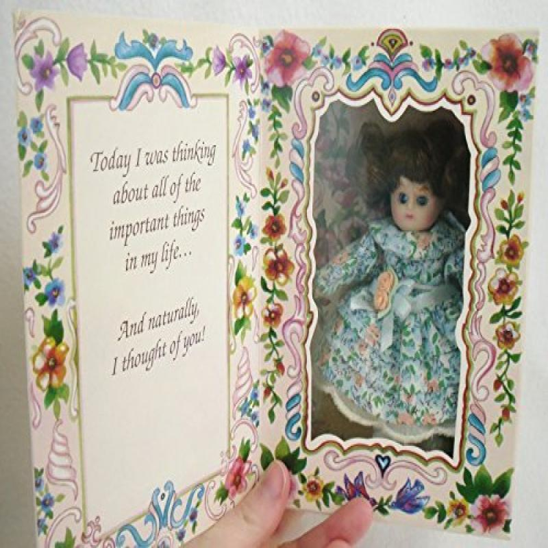 Marie Osmond Porcelain Doll Thinking of You Greeting Card...