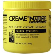 Cream of Nature No Base Relaxer 1 lb.- Super 15 oz. (Pack of 6)