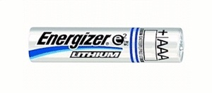 Energizer L92 AAA Lithium Batteries 1.5V 144 Pack + 30% Off! by