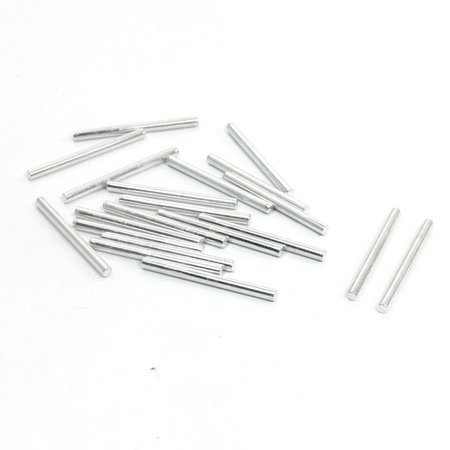 Unique Bargains Rc Toy Car Frame Round Stainless Steel Straight Rods Axles 25Mmx2mm 20 Pcs