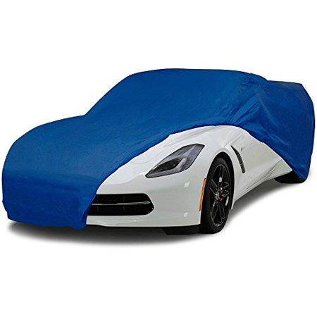 Corvette Semi Custom Car Cover Fits All Corvettes 53 Through 2018 Blue Color