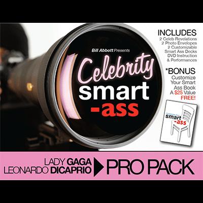 Celebrity Smart Ass Bundle  Lady Gaga   Leonardo Dicaprio  By Bill Abbott