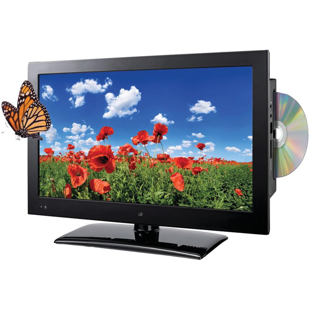 """Gpx TDE1982B 18.5"""" TV/DVD Combo - HDTV - 16:9 - 1366 x 768 - 720p - LED - ATSC - NTSC - 176"""