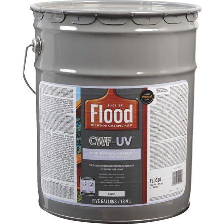 Flood CWF-UV Oil-Modified Fence Deck and Siding Clear Wood (Siding Latex)