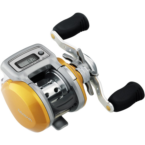 Daiwa Accudepth 15 Compact 6.3:1 IC Digital Line Counter Casting Reel - ADICV15