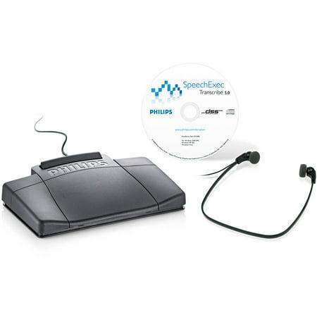 Philips LFH7177 SpeechExec Digital Transcription Kit by