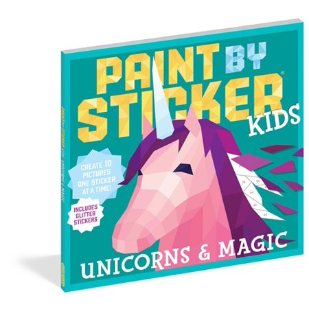 - Paint by Sticker Kids: Unicorns & Magic - Paperback