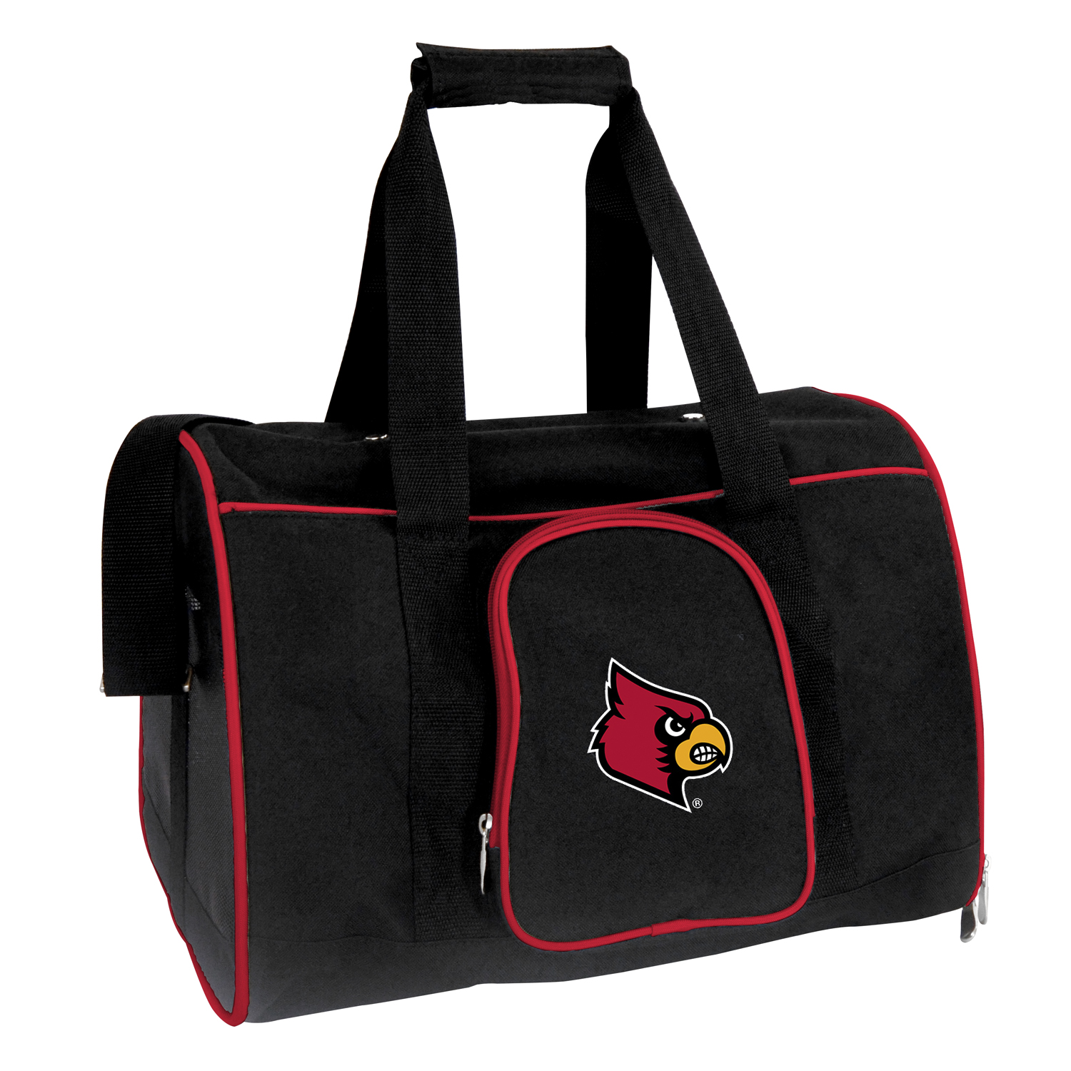 NCAA Louisville Cardinals 16 in. Premium Pet Carrier