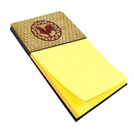 Rooster Chicken Coop Refiillable Sticky Note Holder or Postit Note Dispenser SB3085SN ()