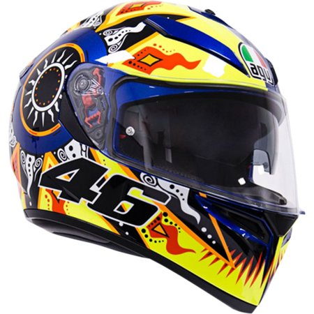 AGV K3 SV Rossi 2002 Motorcycle Helmet Yellow/Black/Blue