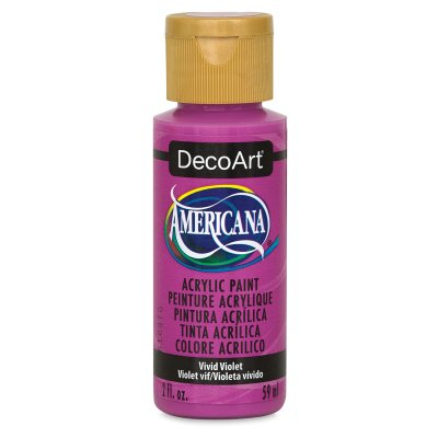 DecoArt Americana Acrylic Paint - Burnt Orange, 2 oz Decoart Americana Acrylic Paints