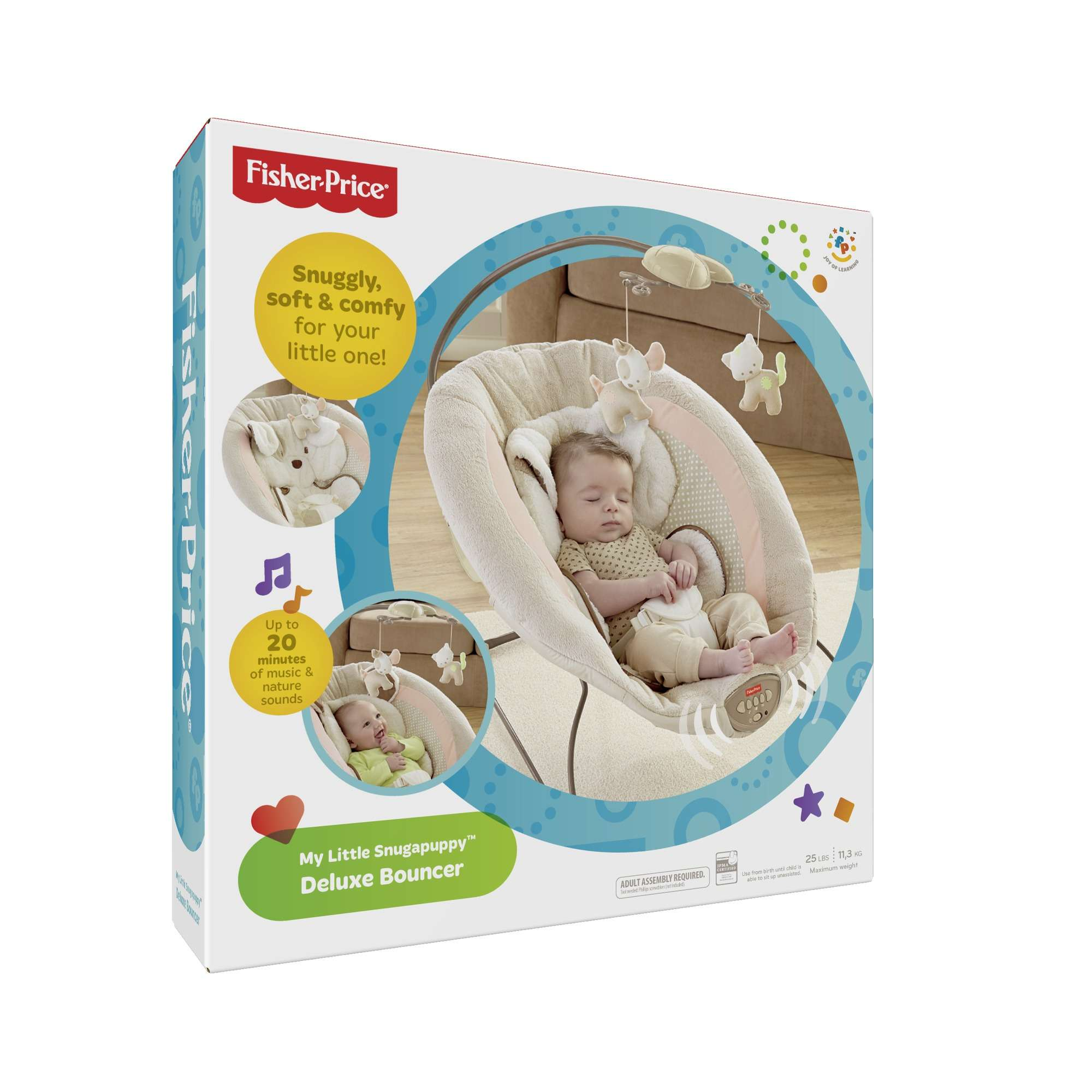 Sugar Baby Deluxe Musical Vibration Bouncher 1 Recline New Daftar Bouncer Toys Bayi Source Fisher Price