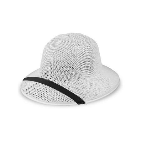 Straw Pith Helmet (Straw Pith Helmet White)