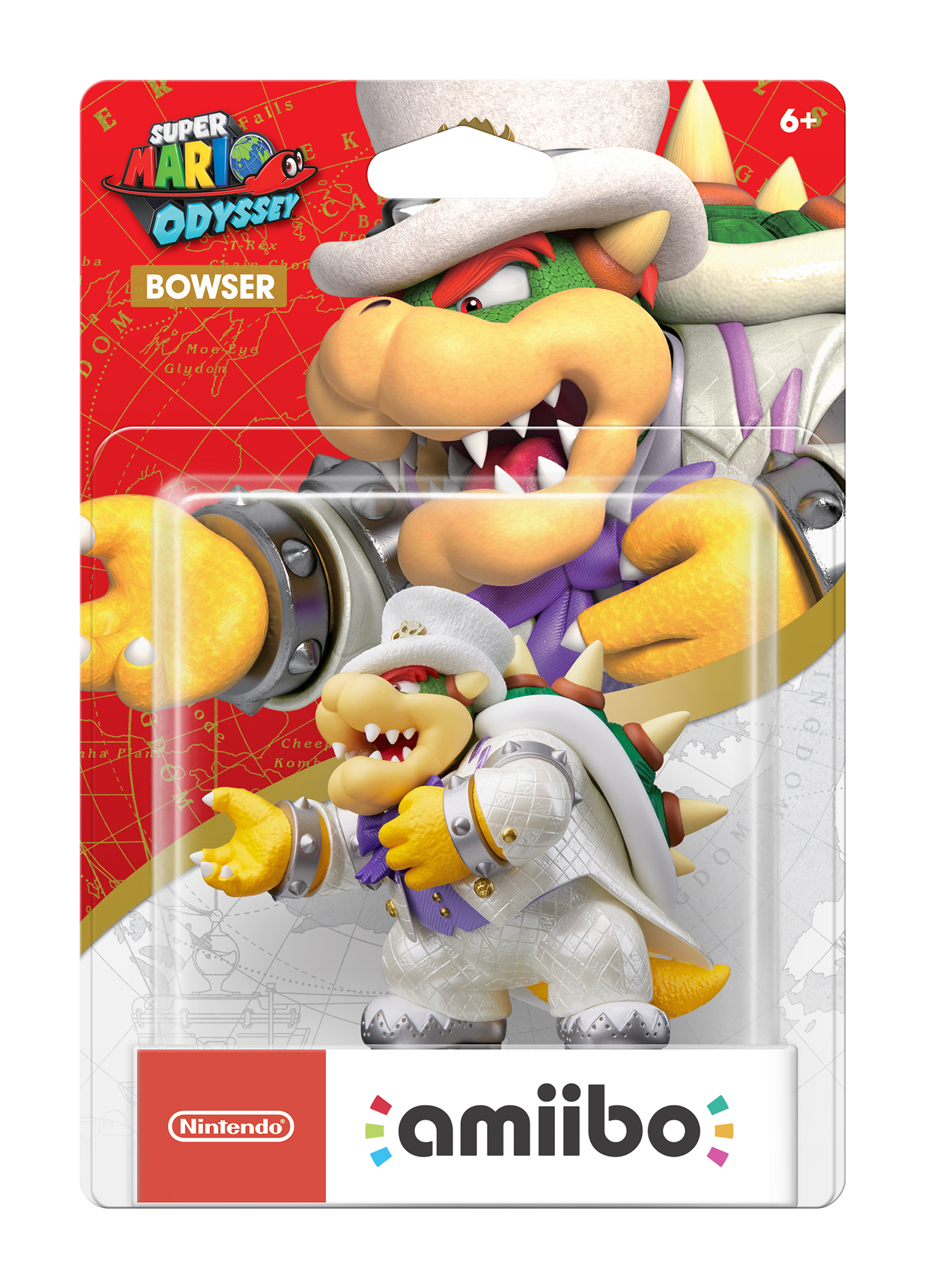 Bowser Wedding Outfit Super Mario Odyssey Series Nintendo Amiibo