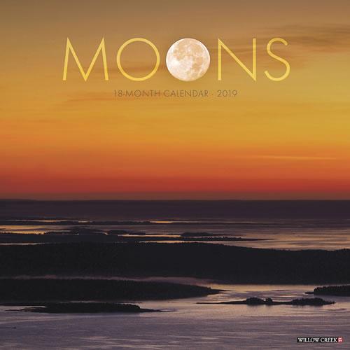 Willow Creek Press 2019 Moons Wall Calendar