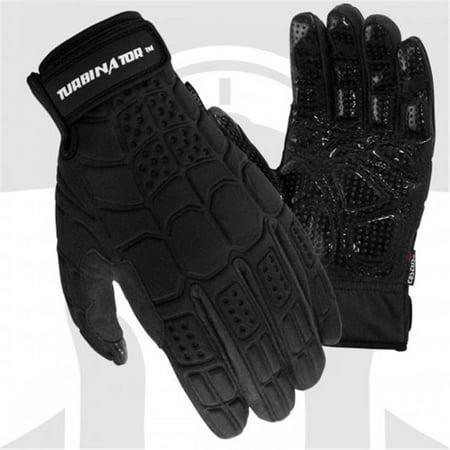cestus 3061 2xl pro series polypropylene turbinator windproof one pair glove, black - 2 extra (3061 Series)