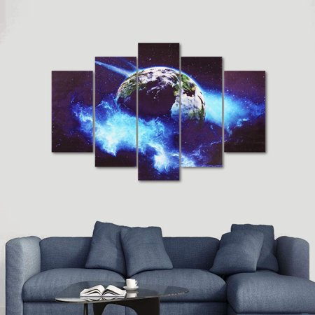 4/5 Pcs Frameless Canvas Prints Pictures, Morden Abstract Paintings, Canvas Wall Art, Home Decor - image 4 of 10