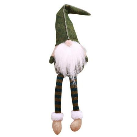 Doll Legs And Hands - Cluxwal Santa Claus Long Leg Gnome Plush Doll Handmade Home Decor Collectible Dolls Desktop Ornament