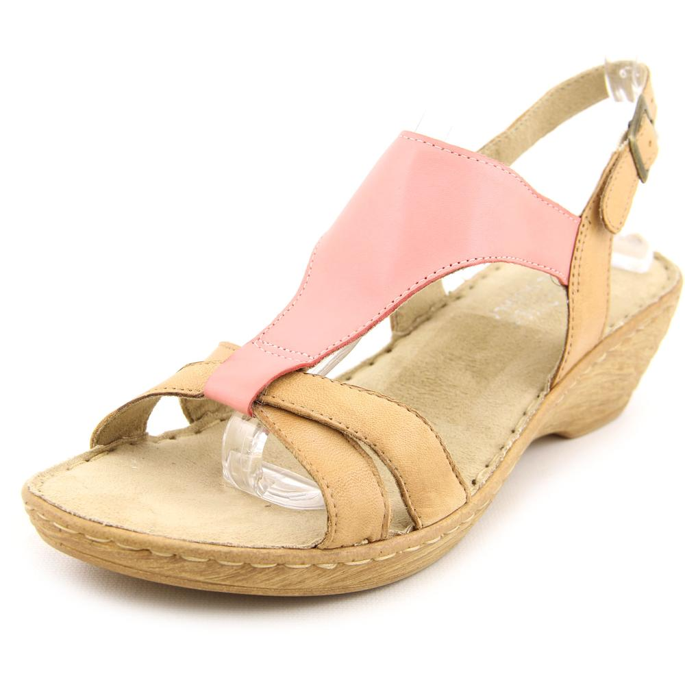 Bella Vita Gubbio N S Open Toe Leather Wedge Sandal by Bella Vita