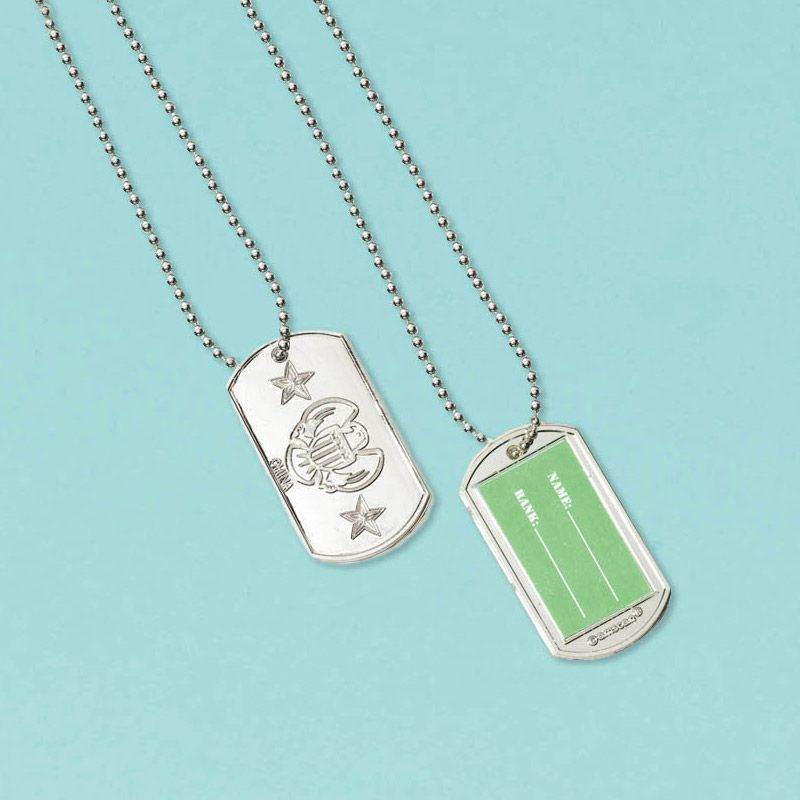 NEONBLOND Personalized Name Engraved Worlds Best Hymnographist Dogtag Necklace