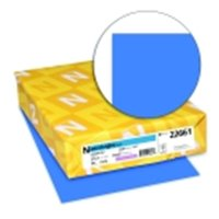 Astrobrights 8.5 x 11 in. Premium Copy Paper - Celestial Blue, Pack 500