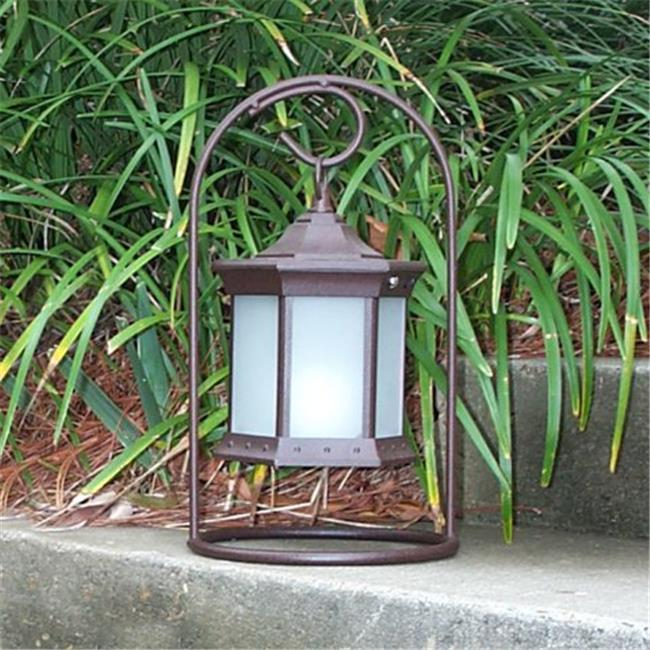 Starlite SLASFG Solar Lantern Arch Stand Frosted Glass